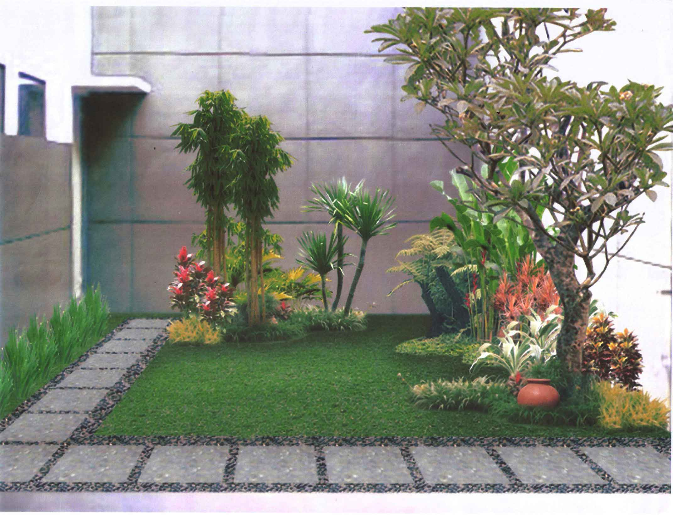 Merancang Design Taman Minimalis Rumah | EVA NOVIA Blog
